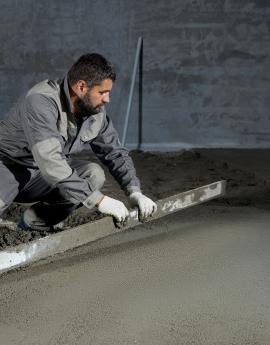 układanie jastrychów cementowych